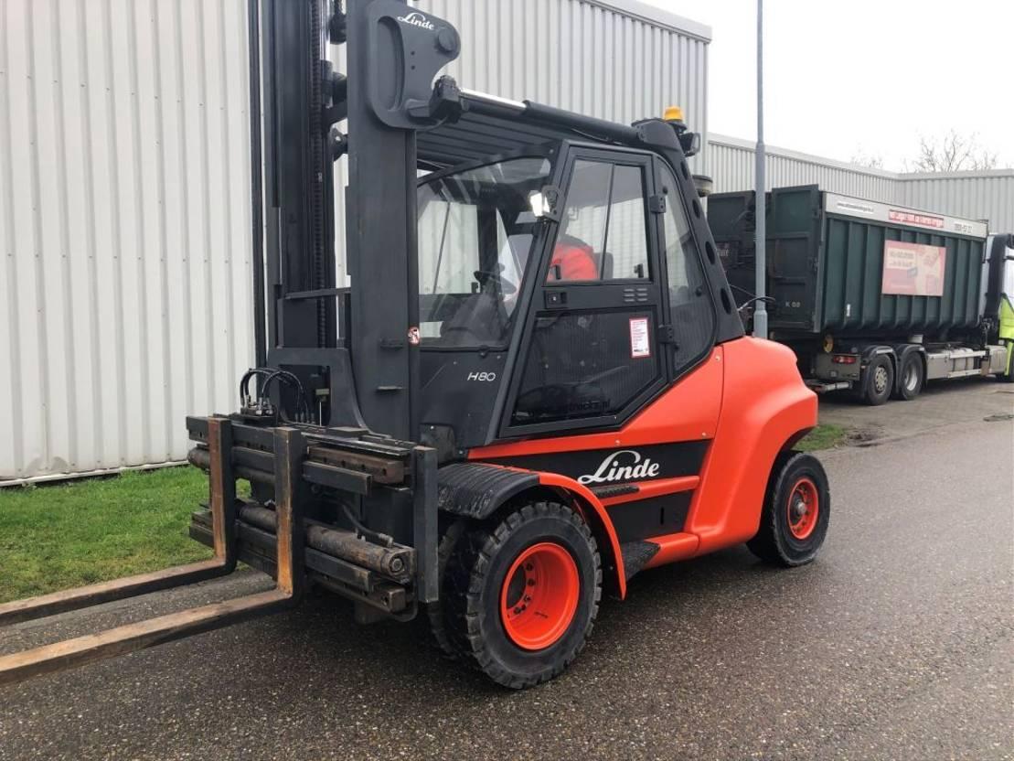 vorkheftruck Linde H80T-01/900 2012