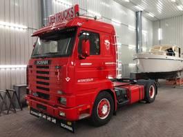 standaard trekker Scania 143-420 topline 1995 showtruck !!!!. 1995