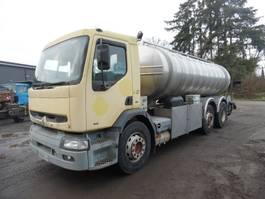 tankwagen vrachtwagen Renault Premium 340 Melkwagen 6x2