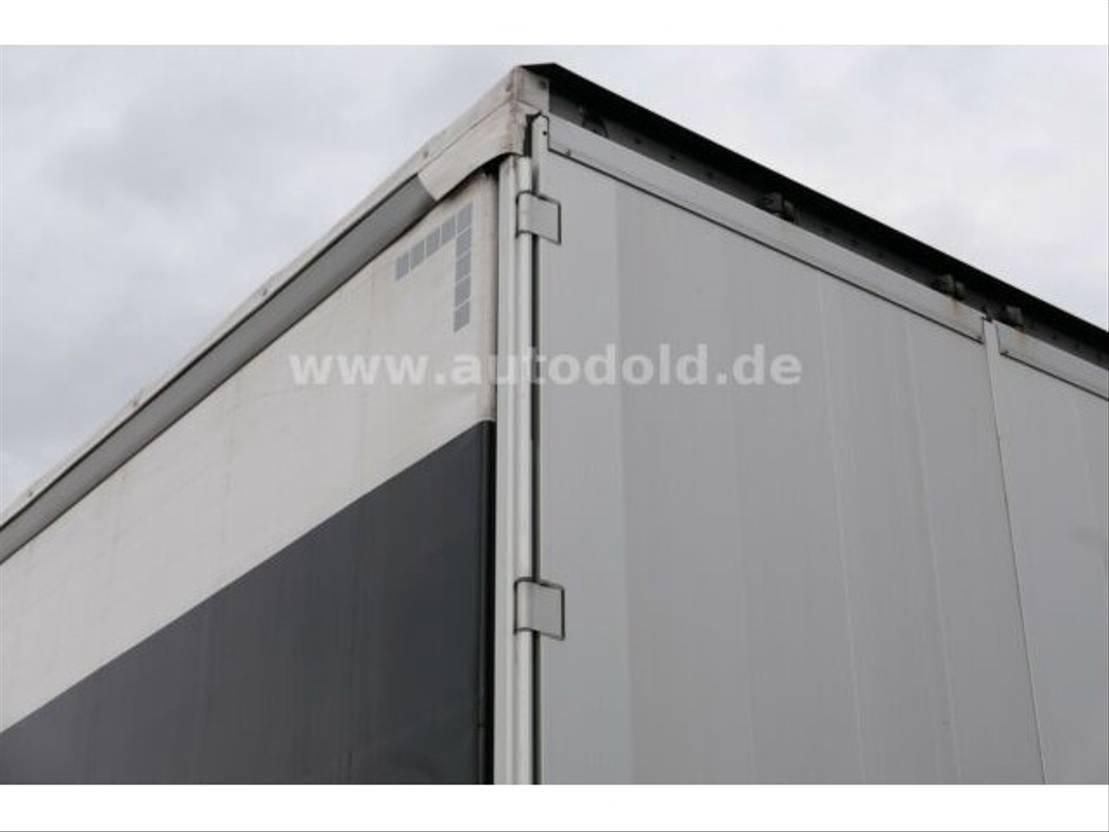 huifzeil aanhanger Schwarzmüller PA 2/E Pritsche Plane Bordwände Durchlade 2017