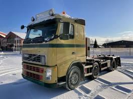 wissellaadbaksysteem vrachtwagen Volvo FH 480 8x2, Euro 5, 20ton Hook-lift, 2007 2007
