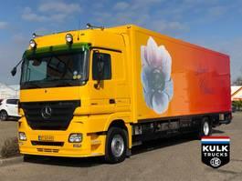 koelwagen vrachtwagen Mercedes-Benz Actros 1844 / THEO MULDER / TIP TOP TRS ICELAND / VERKOOPWAGEN 2007