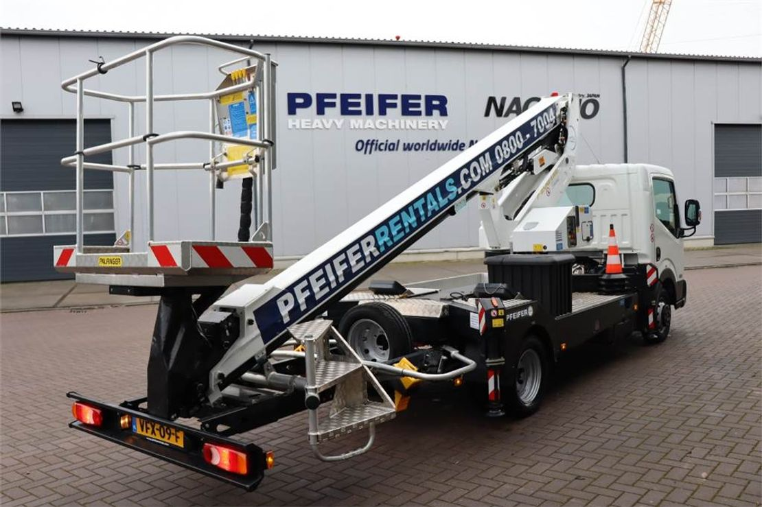 autohoogwerker vrachtwagen Palfinger P200TXE Valid inspection, *Guarantee! Driving Lice 2019