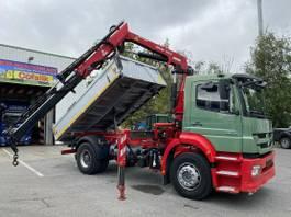 kipper vrachtwagen > 7.5 t Mercedes-Benz Axor 1829 BB Meiller-Stahl + Atlas 116.3 2011
