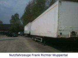 gesloten opbouw oplegger Sommer SG 240 ATX Kleiderkoffer 2x da 1999