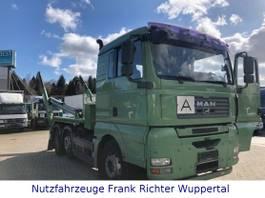 containersysteem vrachtwagen MAN TGA 26.480 ,Meiler Miete möglich org 379Tkm1Hd. 2007