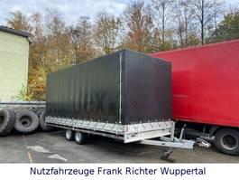 huif aanhangwagen Hulco Medax 3 T Autotransporter Mit Fahrrampen 2014