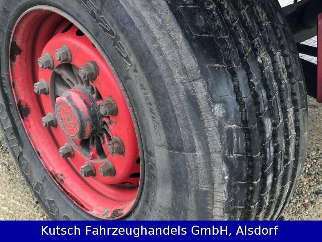 huifzeil aanhanger Krone Stehmann AZP 18 Pritschenanhänger 2011