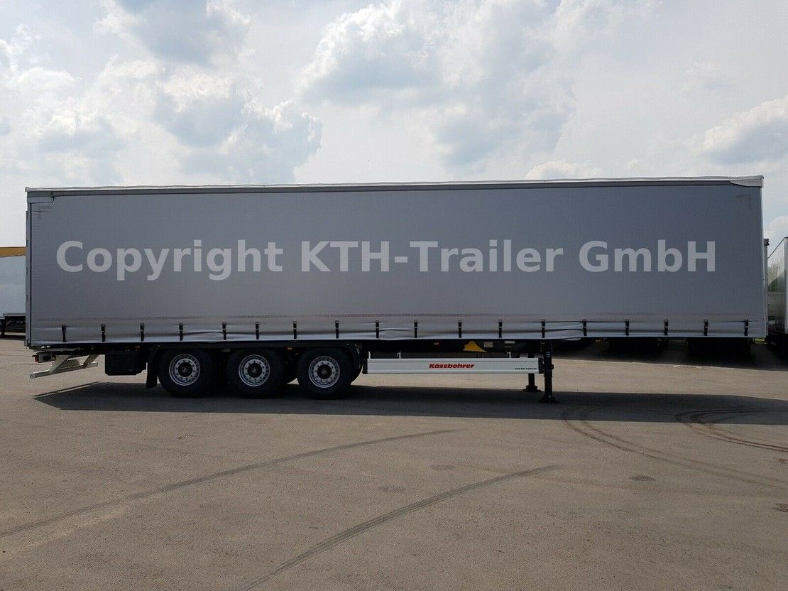huifzeil oplegger KAESSBOHRER Curtainsider / Schiebeplanenauflieger Typ SCS X+