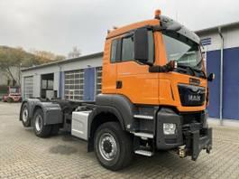chassis cabine vrachtwagen MAN TGS 28 6x4-4 BL Eur 6 Winterd. Wechselfahrg. 2015
