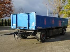open laadbak aanhanger Dinkel DAP 18000 2 Achse Pritsche 2011