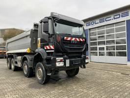 kipper vrachtwagen > 7.5 t Iveco Trakker 450 AD410TW 8x8 Euro 6 Muldenkipper TOP! 2017