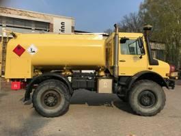 tankwagen vrachtwagen Unimog U5000 mit 5000 l Diesel Tankwagen ADR 2007