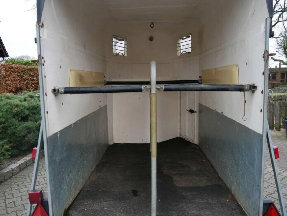 overige aanhangwagen Schmidt Vollpoly 2 Pferde mit Sattelkammer 1997