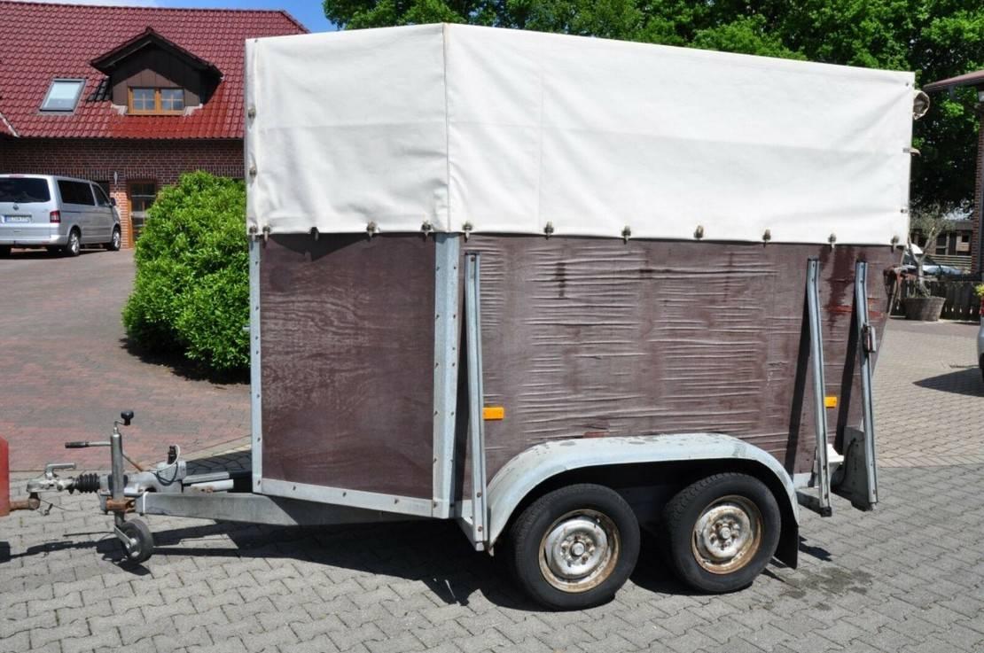 overige aanhangwagen Diversen Other Holz Plane 1,5 Pferde 1991