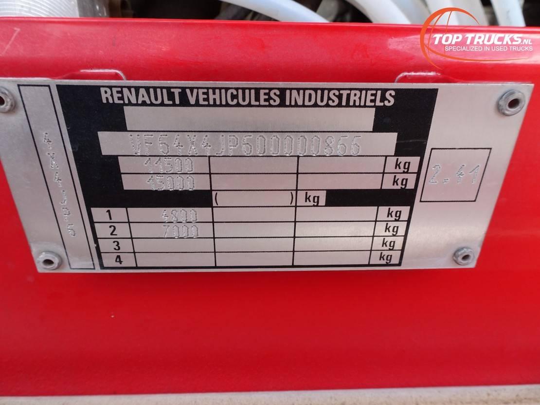 brandweerwagen vrachtwagen Renault Midliner 180 M180 4x4 - 4.400 ltr watertank - Doppelcabine, Crewcab - feuerwehr,fire ... 1996