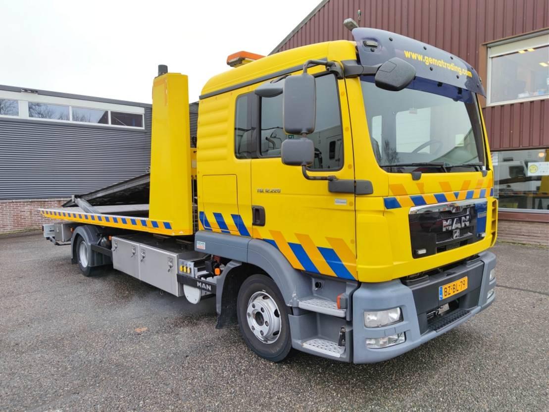 takelwagen-bergingswagen-vrachtwagen MAN TGL 12 4X2 Dubbelcabine Euro 5 - DGT 5502 - 1 Ramsey lier (V333) 2011