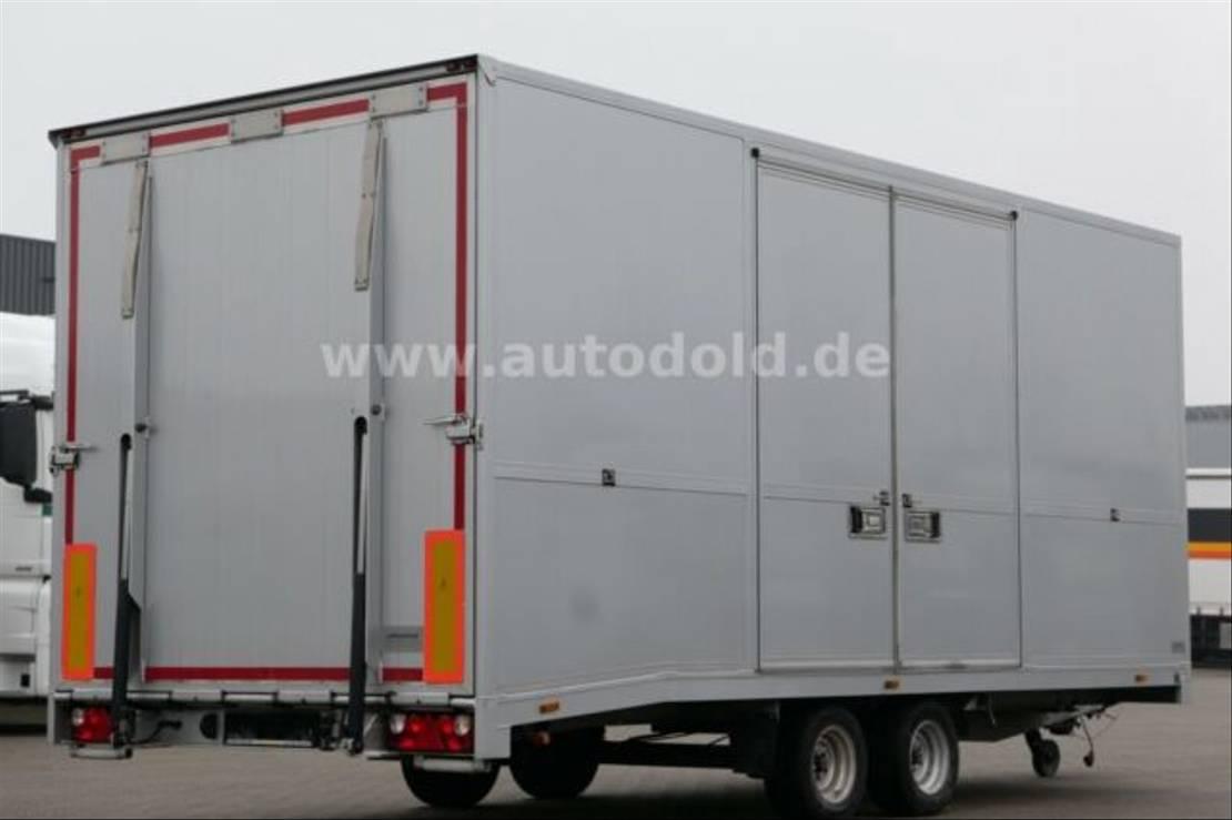 autotransporter aanhangwagen Diversen Moetefindt Autotransport LBW Seilwinde Funk 2011