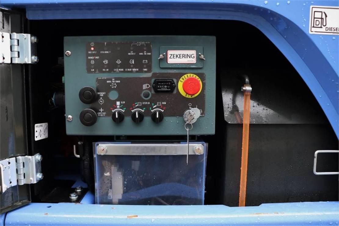 telescoophoogwerker rups Diversen Nagano S15AUJ Valid inspection, *Guarantee! Diesel, 15 m 2020