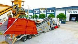 betonmixinstallatie FABO TURBOMİX 110 CE QUALITY NEW GENERATION MOBILE CONCRETE MIXING PLANT 2021