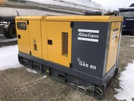 generator Atlas Copco QAS 80 2010