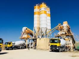 betonmixinstallatie FABO POWERMIX-160 STATIONARY CONCRETE BATCHING PLANT Stationary 2020