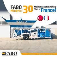 betonmolen FABO MOBILE CONCRETE PLANT CONTAINER TYPE 30 M3/H FABO MINIMIX 2021