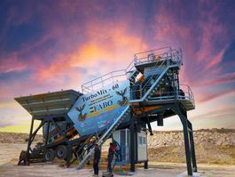 betoncentrale FABO TURBOMIX-60 MOBILE CONCRETE MIXING PLANT 2021