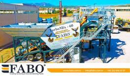 betonmixinstallatie FABO TURBOMIX-60 MOBILE CONCRETE MIXING PLANT 2021