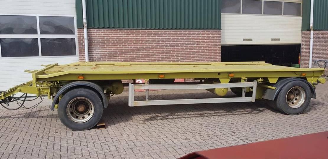 platte aanhanger vrachtwagen Diversen wagen