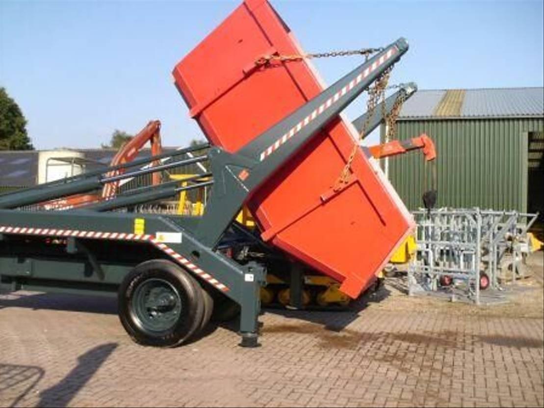Opbouw vrachtwagen onderdeel Trac tor portaalarm systeem