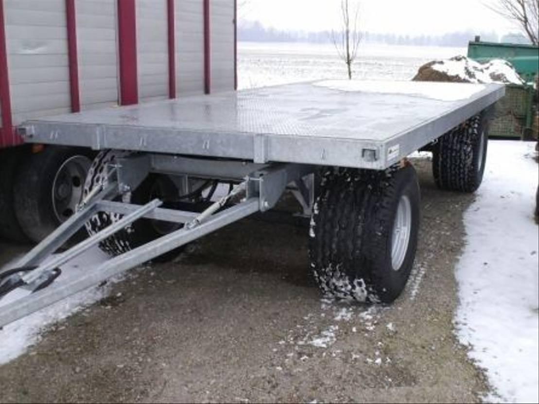 platte aanhanger vrachtwagen Diversen Balenwagens