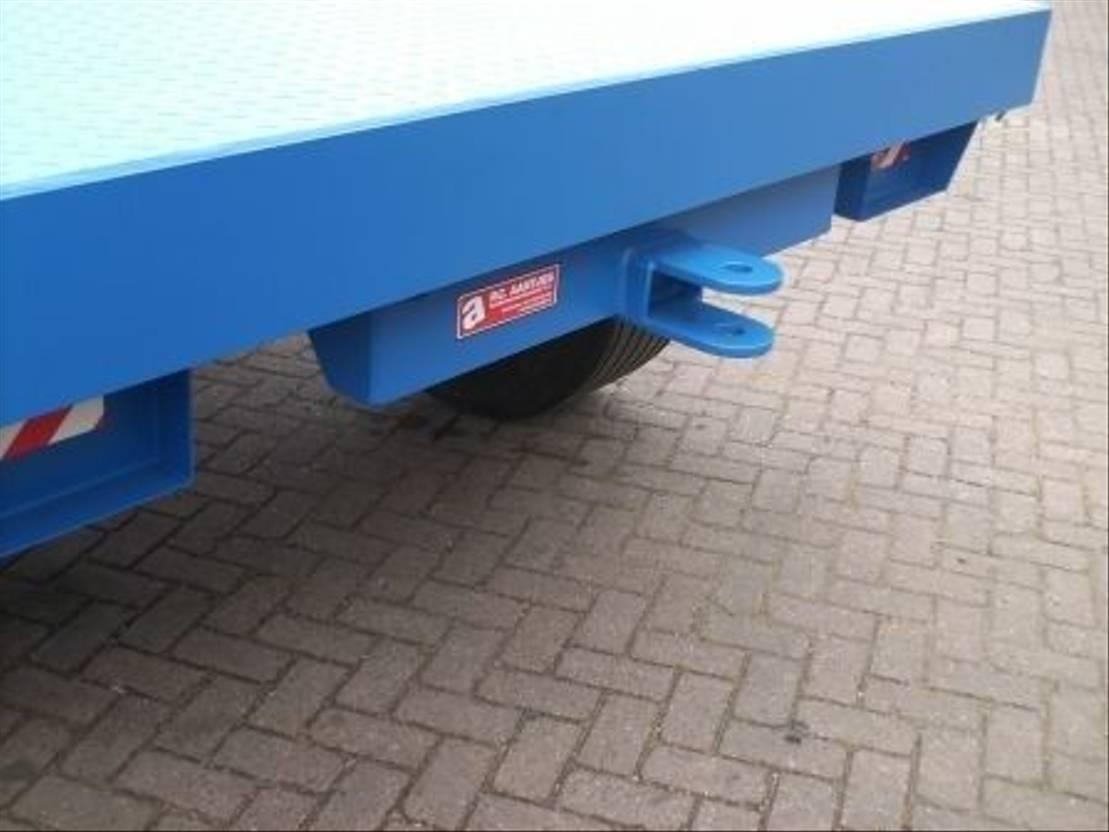 platte aanhanger vrachtwagen Diversen aannemerswagen