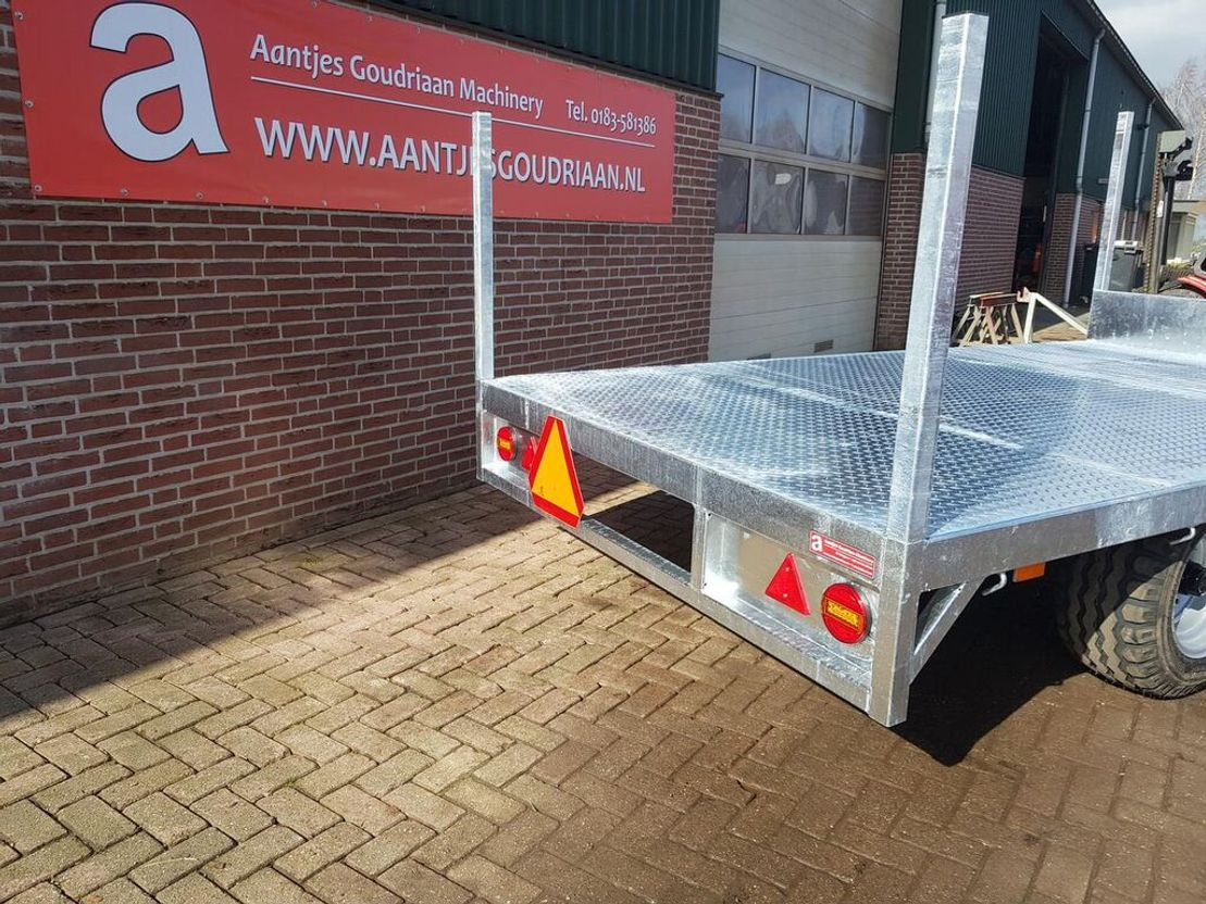 platte aanhanger vrachtwagen Diversen Transportwagen
