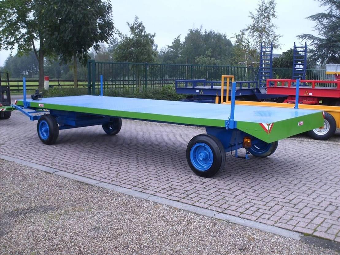 platte aanhanger vrachtwagen Diversen Industriewagens