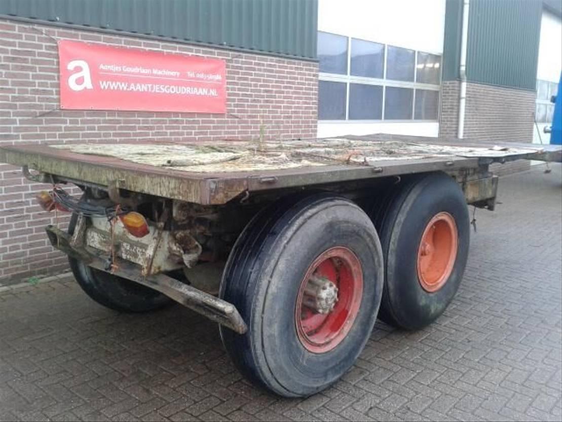 platte aanhanger vrachtwagen Diversen Platte wagen