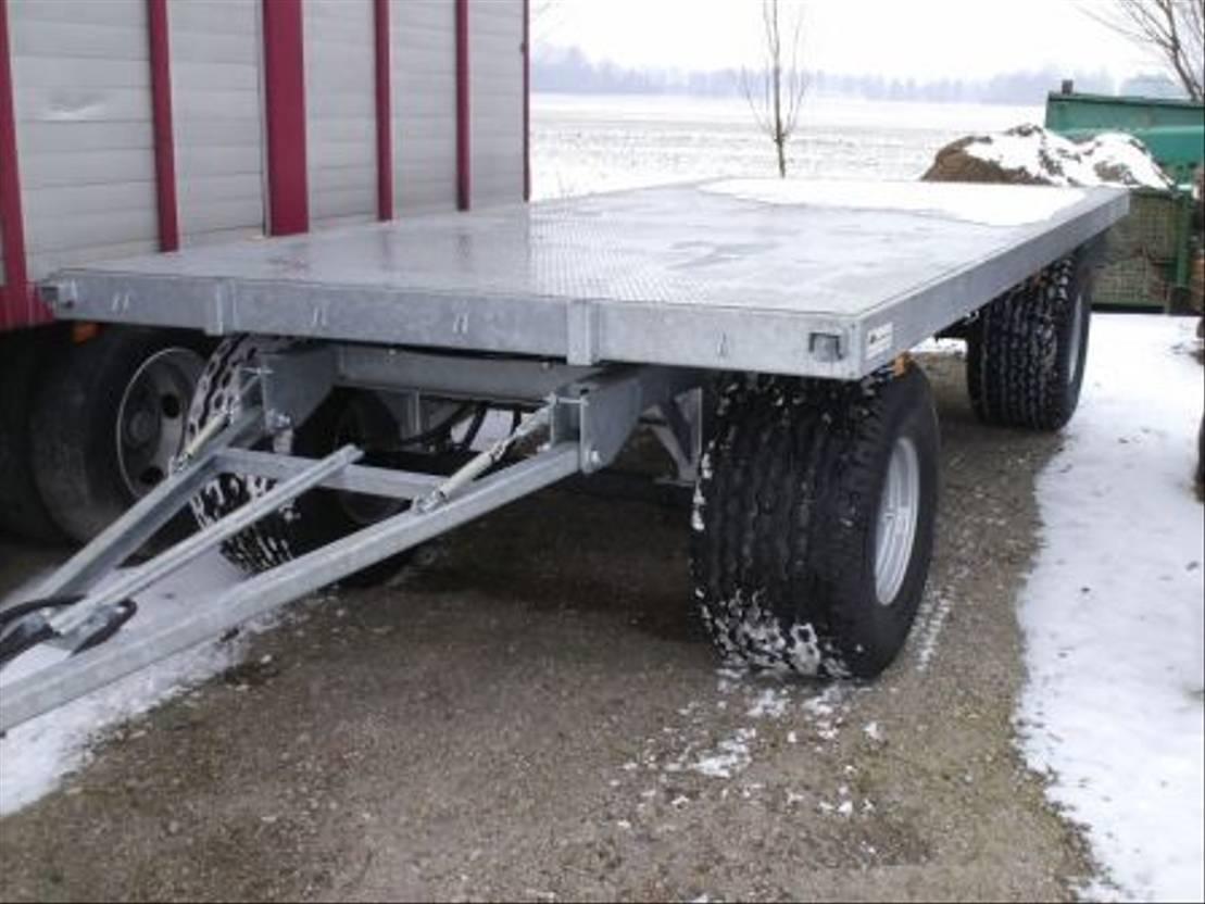 platte aanhanger vrachtwagen Diversen Landbouwwagen gegalvaniseerd