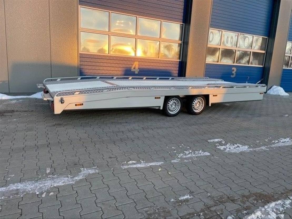 autotransporter aanhangwagen Tijhof TA30-ANN aluminium auto ambulance 2021