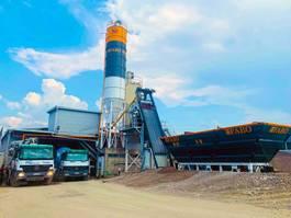 betonmixinstallatie FABO SKIP SYSTEM CONCRETE BATCHING PLANT   60m3/h Capacity COMPACT 2020