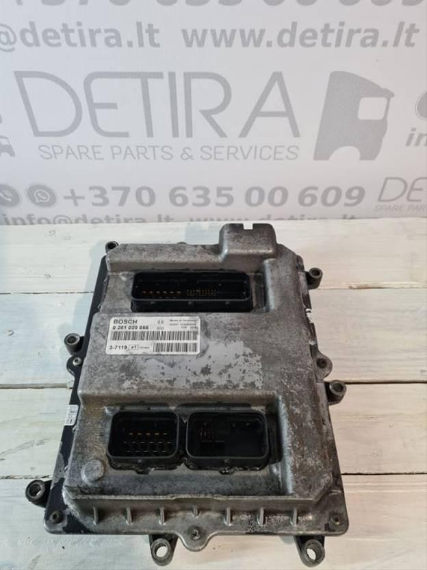 Ontstekingsregeleenheid vrachtwagen onderdeel MAN TGA 480 (EURO3 ) ENGINE CONTROL UNIT 0281020056 2005