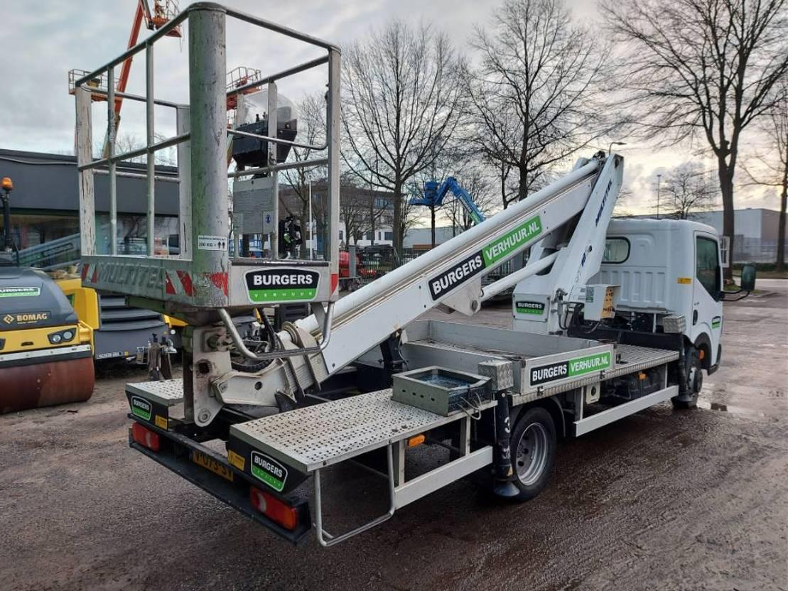 autohoogwerker vrachtwagen Multitel mt182 2013