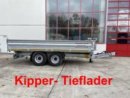 kipper vrachtwagen > 7.5 t Möslein TTD 14 Schwebheim  14 t Tandem- Kipper Tieflader, Breite Reifen-- Neufahrze 2021