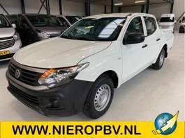 open laadbak bedrijfswagen Fiat fullback dub cab open laadbak nieuw airco 20km benzine 2021