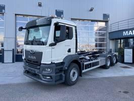 containersysteem vrachtwagen MAN 26.430 6x2-4 BL-NN New Generation AJK containerhaak 2021
