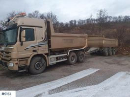 kipper vrachtwagen > 7.5 t Mercedes-Benz Actros snow rigged w / Nor slep trailer 2010