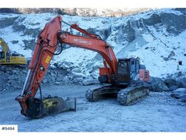 rupsgraafmachine Hitachi ZX300LC-6 Excavator with GPS, Montabert CPA-250 Dr 2016