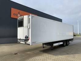 koel-vries oplegger Krone 2-axle reefer, Carrier Vector 1550 D/E, taillift 2.000kg, NL-trailer, APK: 10/2021 2011
