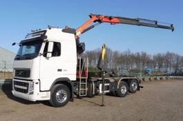 containersysteem vrachtwagen Volvo FH 460 L - 6x2/4 - EURO 5 - PALKFINGER PK 18002 EH-B + REMOTE CONTROL