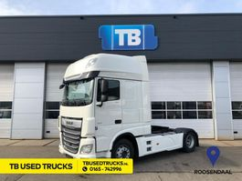 standaard trekker DAF XF 106.480 FT Super Space Cab Used Skirts Intarder LED Truckphone 2018