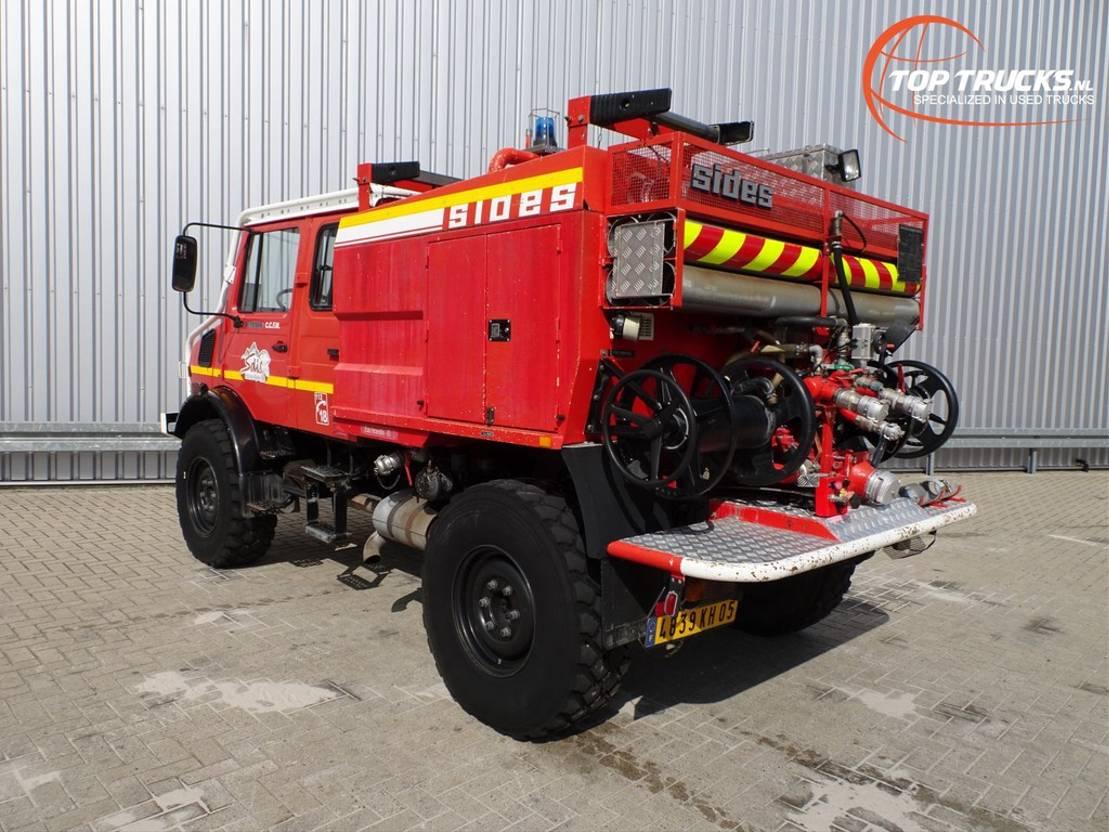 brandweerwagen vrachtwagen Mercedes-Benz Unimog Mercedes Benz 4x4 - Unimog U1550 L320 (437), SIDES CCF2000 ltr. feuerweh... 1997